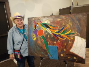 """Free Spirit"" artwork returns home to TVS"