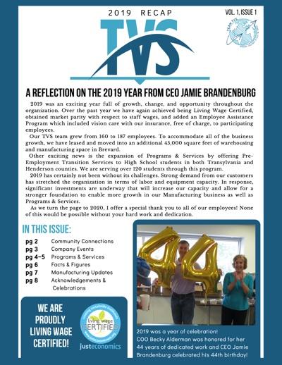 TVS Newsletter — 2019 Recap