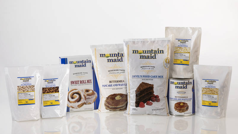 Mountain Maid Products for U.S. military and food assistance.
