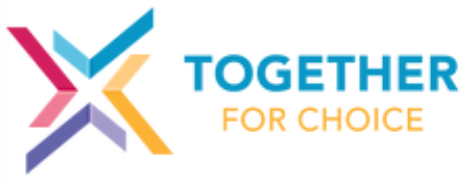 Together for choice logo
